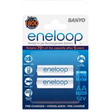 Аккумулятор Sanyo Eneloop R6 АА (1900mAh) x 2шт. (HR-3UTGB-2BP)