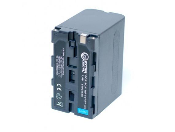 Аккумулятор Sony NP-F960, NP-F970 - ExtraDigital (BDS2652)