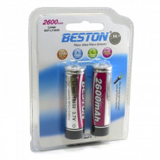 Акумулятор Beston BST-18650X2 2600mAh Li-on (AAB1821)