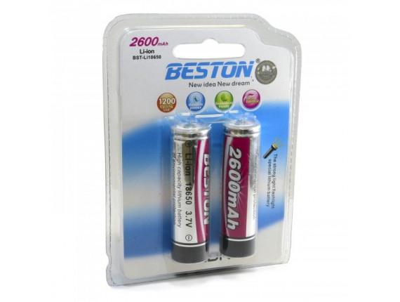 Акумулятор Beston BST-18650X2 2600mAh Li-on (AAB1821)