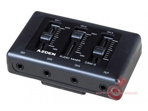 Портативный микшер Azden CAM-3 Mixer