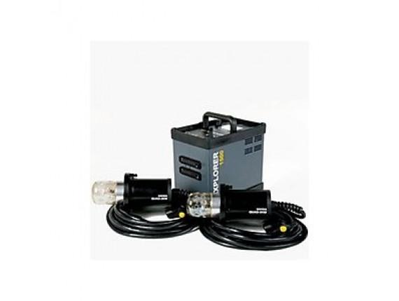 Батарейный генератор BOWENS EXPLORER 1500 с 2-мя генераторными головами (BW-7731)
