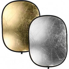 Отражатель BOWENS OVAL REFLECTOR PANEL (122x92cm) GOLD/SILVER (BW-3265)