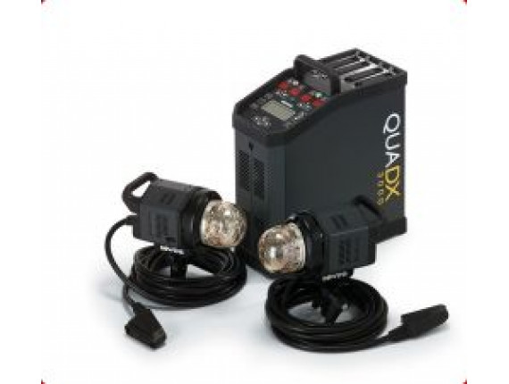 Генератор BOWENS QUADX STUDIO SET 3000 с 2-мя генераторными головами (BW-7710)