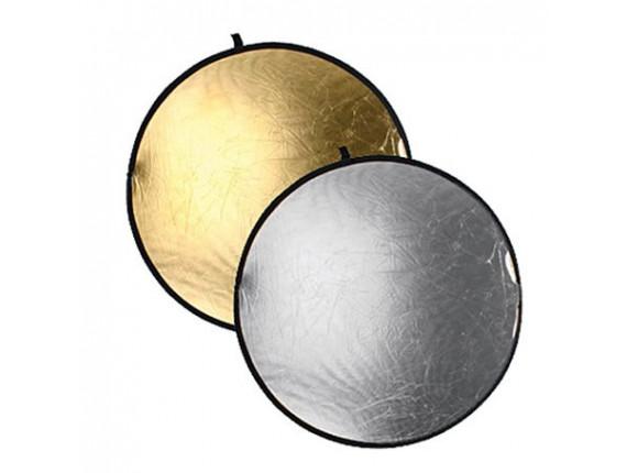 Отражатель BOWENS REFLECTOR DISC (107cm) GOLD/SILVER (BW-3245)