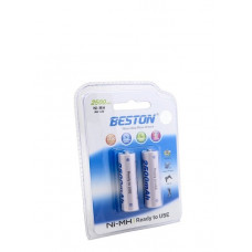 Аккумулятор Beston AA 2500mAh Ni-MH 2шт READY-TO-USE (AAB1837)