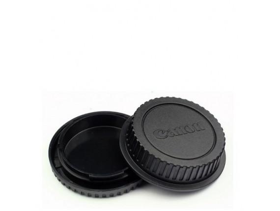 Комплект крышек JYC for Canon EOS Body-Lens Kit