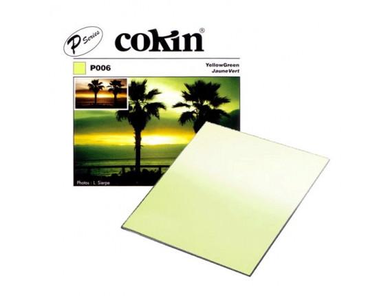 Квадратный фильтр Cokin P 006 Yellow Green
