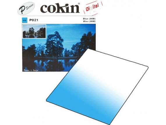 Квадратный фильтр Cokin P 021 Blue (80B)