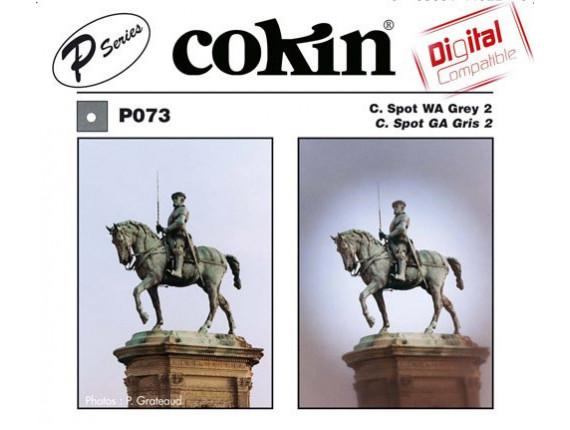 Квадратный фильтр Cokin P 073 C.Spot WA Grey 2
