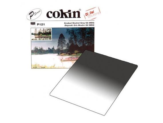 Квадратный фильтр Cokin P 121 Grad. Neutral Grey G2 (ND8) (0.9)