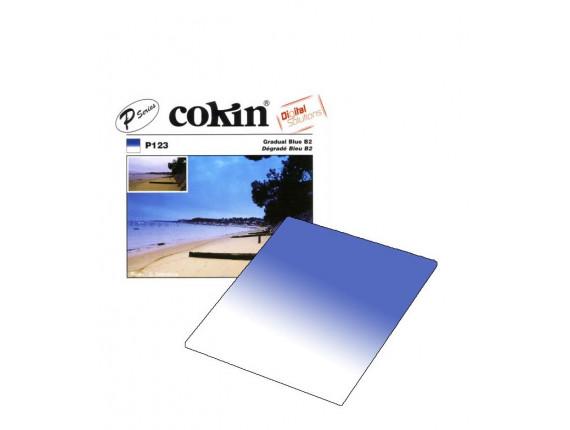 Квадратный фильтр Cokin P 123 Gradual Blue B2