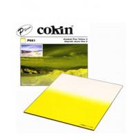 Квадратный фильтр Cokin P 661 Gradual Fluo Yellow 2
