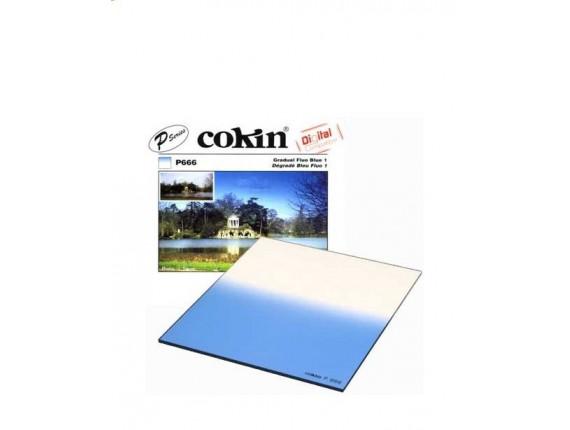 Квадратный фильтр Cokin P 666 Gradual Fluo Blue 1