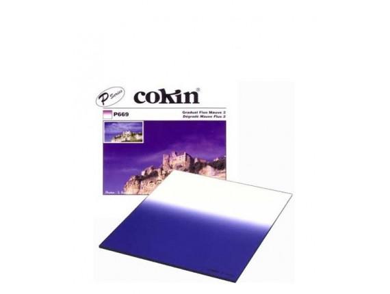 Квадратный фильтр Cokin P 669 Gradual Fluo Mauve 2