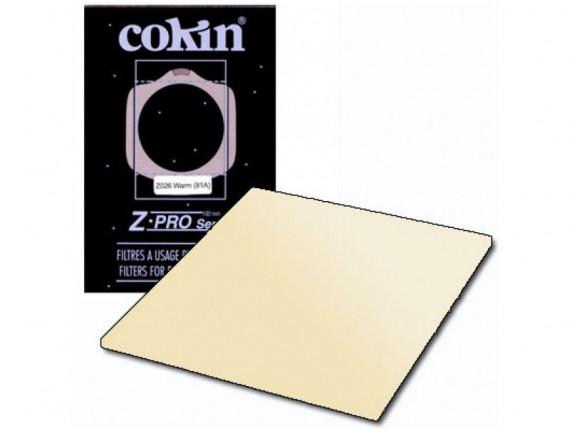 Квадратный фильтр Cokin Z 026 Warm (81A)