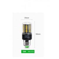 Светодиодная лампа CornLight LED40 E27 5500K (5730SMD) 5W