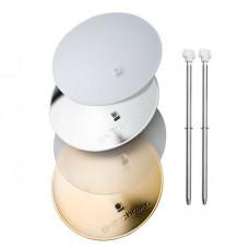 Комплект дефлекторов Elinchrom Deflector Set (silver, gold, frost, translucent, 2x rods) (26310)