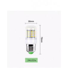 Светодиодная лампа Epistar LED24 E27 5500K (5730SMD) 7W