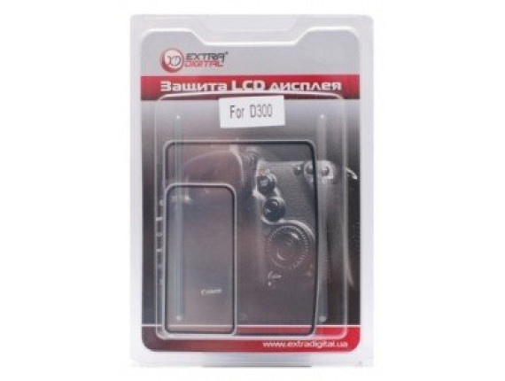 Защита экрана Extradigital Nikon D300 (Twin) (LCD00ED0006)