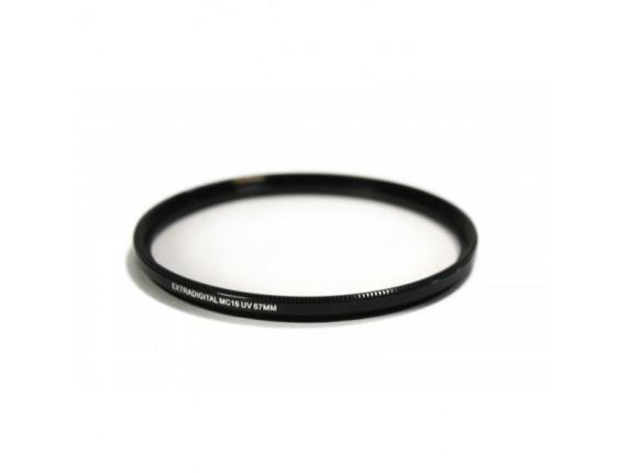Светофильтр ExtraDigital MC16 UV 67 мм Ultra Slim (EDMCUV6700)