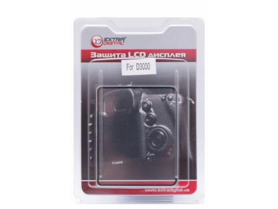 Защита экрана Extradigital Nikon D3000 (LCD00ED0008)