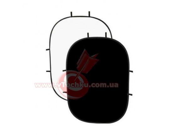 Фон в пружинной рамке SmartLight RE2010 Black/White 1,5x2,0m