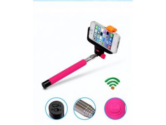 Монопод для селфи For-Selfie Z07-5 pink