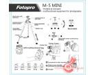 Штатив Fotopro M-5 mini