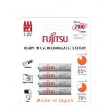 Аккумулятор Fujitsu HR-4UTCEX (4B) AAA, 750 mAh x 4шт