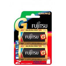 Батарейка Fujitsu LR20G (2B) D x 2 шт. (Alkiline)