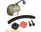 Крепление на шлем GoPro Helmet Mount +360 аналог