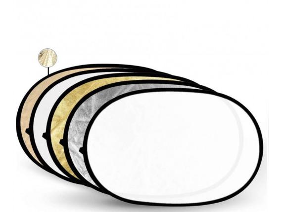 Отражатель Godox-Pioneer 5 в 1 (100х150см) Soft Gold