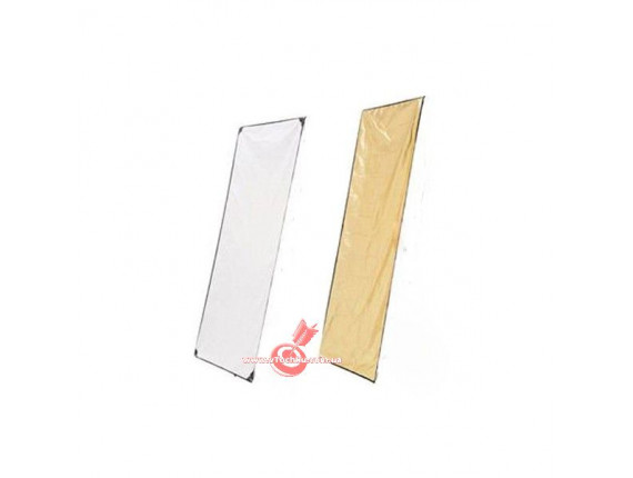 Панель на отражатель HYUNDAE PHOTONICS White/Soft Gold 100x180см