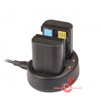 Зарядное устройство Kingma Dual charger for Canon LP-E6