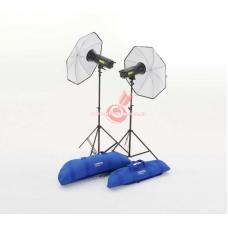 Набор студийного света LASTOLITE Lumen8 Kit F400 Umbrella