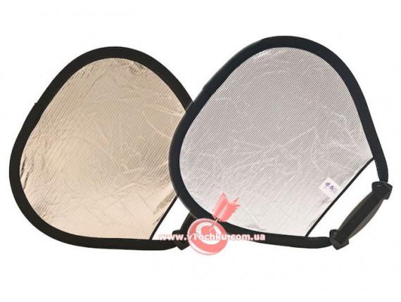 Отражатель треугольный LASTOLITE TriGrip 120см Sunlite/Soft Silver (3728)