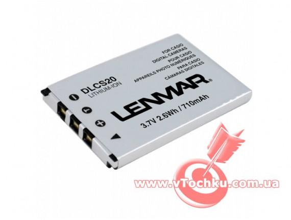 Аккумулятор Сasio NP-20 - Lenmar (DLCS20)
