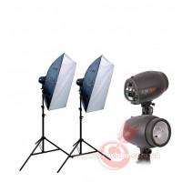 Набор студийного света Menik P-250-2 Softbox KIT