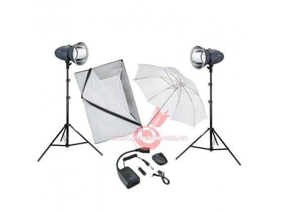 Набор студийного света Mircopro MQ-200S-2 Home Edition