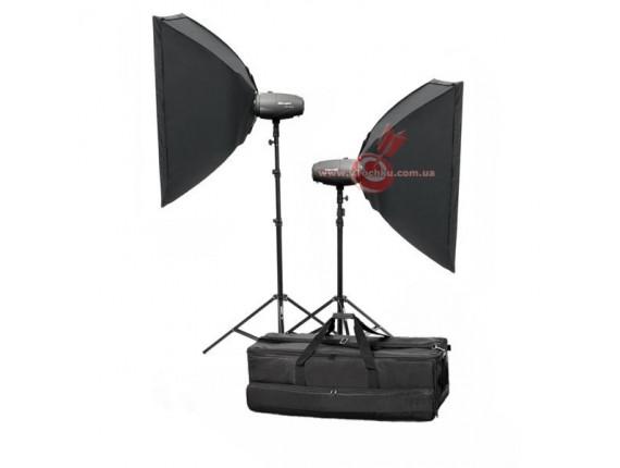 Набор студийного света Mircopro MQ-200 Softbox KIT