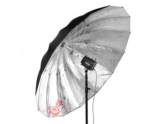 Фотозонт Paul C. Buff PLM Parabolic Umbrella Extreme Silver 64 (PLM64U-S)
