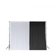 Ворота с фоном SmartLight LS-9113+2427 Black-White double KIT