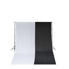 Ворота с фоном SmartLight LS-9113+2750 Black-White double KIT