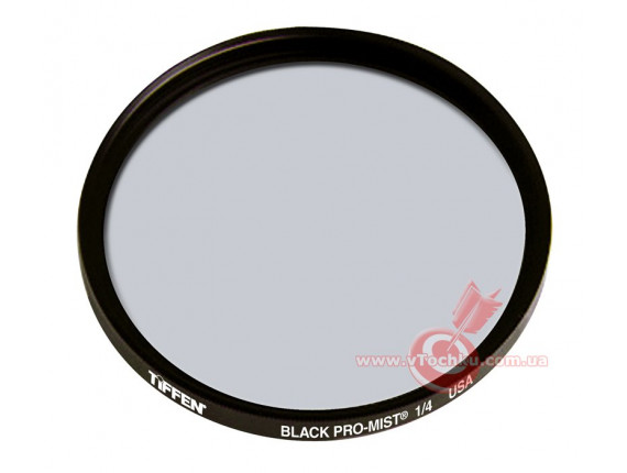 Светофильтр Tiffen 77mm Black Pro-Mist 1/4 Filter