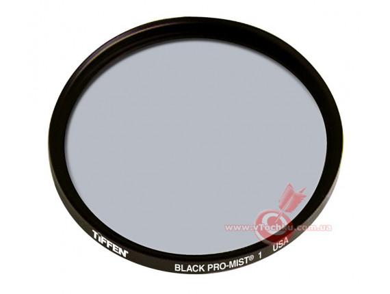 Светофильтр Tiffen 77mm Black Pro-Mist 1 Filter