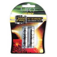 Аккумулятор UFO AA Ni-MH 2000mAh 2шт