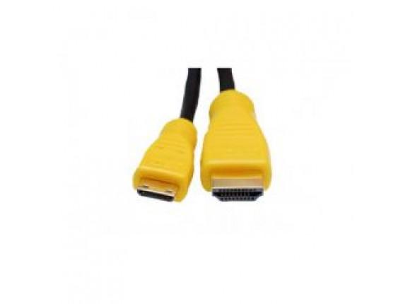 Видео кабель ExtraDigital Mini HDMI to HDMI, 2m, 1.3V (KD00AS1513)