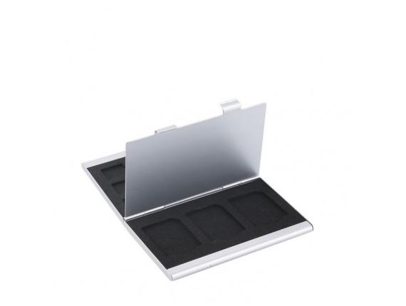 Кейс для карт памяти Visico Metal Case MC-SD5MSD3
