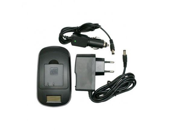 Зарядное устройство ExtraDigital для Canon NB-6L, SLB-10A (LCD) (DV0LCD2232)